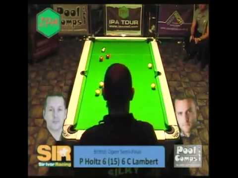 P Holtz v C Lambert Tour 1 Blackpool Semi Final.