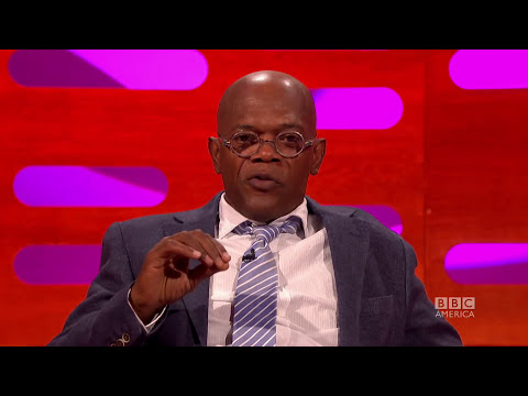 SAMUEL L. JACKSON Is NOT Laurence Fishburne! - THE GRAHAM NORTON SHOW