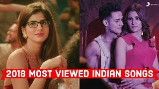 2018 Top 20 Most Viewed IndianBollywood Songs on Y