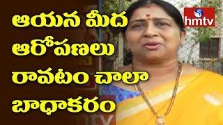 ఆయన మీద ఆరోపణలు రావటం  చాలా బాధాకరం – Kavitha | Actress Kavitha Visits Tirumala Temple | hmtv