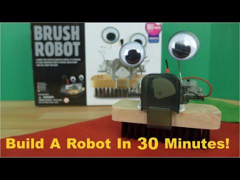 Brush Robot Kit Toy from 4M