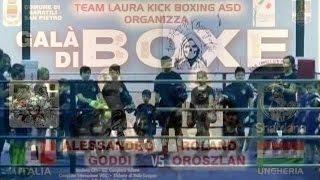 Boxe – Alessandro Goddi VS Roland Oroszlan (Ruinione pugilistica)