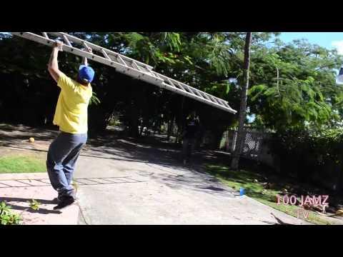 HAITIAN BAHAMIAN COCONUT TREE CLIMBING LESSONS BY DADDI WHITES 100 JAMZ
