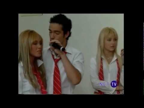 Rbd Roberta Mia e Miguel cantam Aun Hay  Algo Dublado