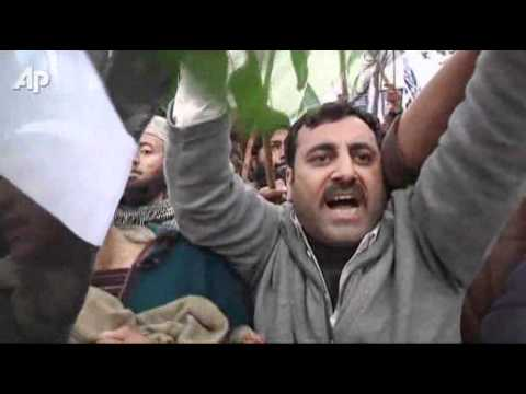 Raw Video: Anti-Nato Rally in Pakistan