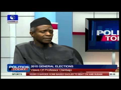 Buhari Is Prepared For Whatever Democracy Entails - Osinbajo