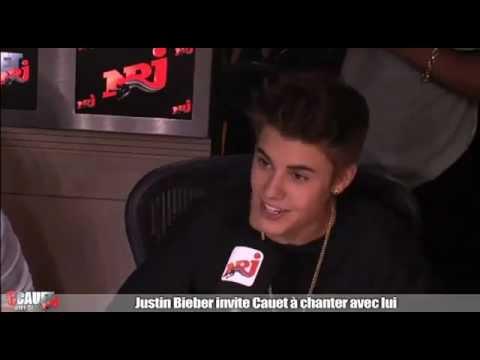 Justin Bieber Invite Cauet À Chanter Eenie Meenie video