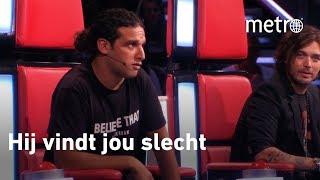 Ali B vertaalt voor Lil Kleine in the voice of holland