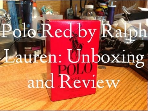 Polo Red by Ralph Lauren Men's Cologne: Unboxing and Review