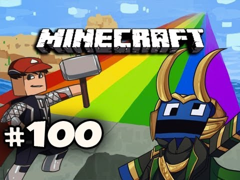 Minecraft: Asgard Adventures w/Nova Ze & Kootra Ep.100 - FAIL CHICKEN PEN