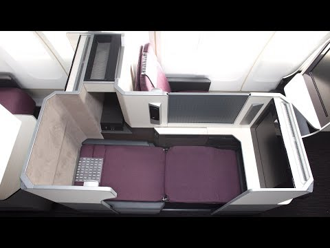 Japan Airlines B777-300ER Business Class London to Tokyo (onboard technical problem)
