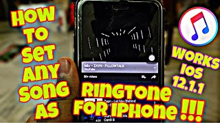 SET ANY SONG As the Ringtone For iPhone  WORKING i