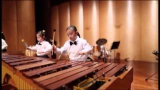 2013/01/25 小星星變奏曲+歌劇魅影 高音木琴馬林巴,Marimba