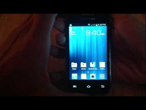 Samsung Galaxy Rush review Pt 1 (Boost Mobile)