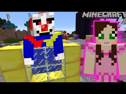 Minecraft: DUNK THE CLOWN GAME - PAT PARADISE [4]