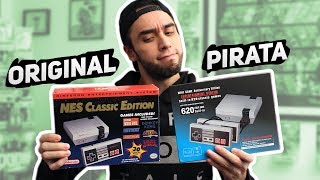 Mini NES P1RATA vs Mini NES ORIGINAL