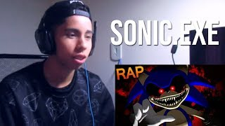 "REACT Rap do SONIC.EXE - ""Entidade do Mal"" 