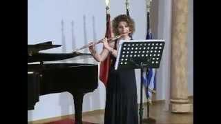 Ç. Zadeja: Epic Improvisation. Flute: Anna-Majlinda Spiro, Piano: Amir Xhakoviq