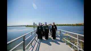 Престольный праздник Преображенского храма на воде.