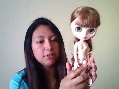 Blythe dolls: Body