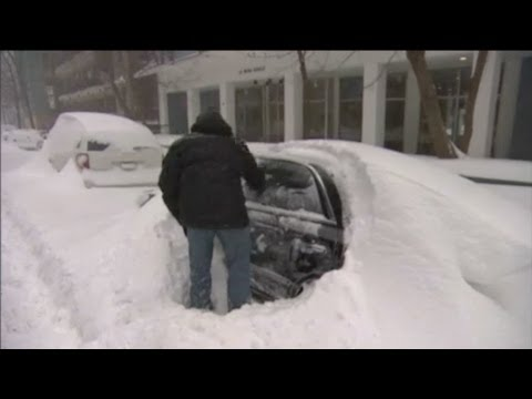 Winter storm slams Northeast of USA and East of Canada