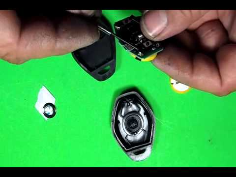 Rechargeable Battery for BMW Key Remote How To Replace
