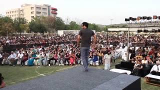 YO YO HONEY SINGH WITH MAFIA MUNDEER at AIT Gurgaon