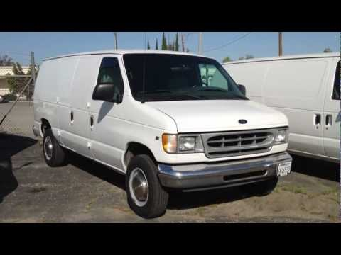 Stock #904 2001 Ford E250 Cargo Van truck 126k miles FOR SALE