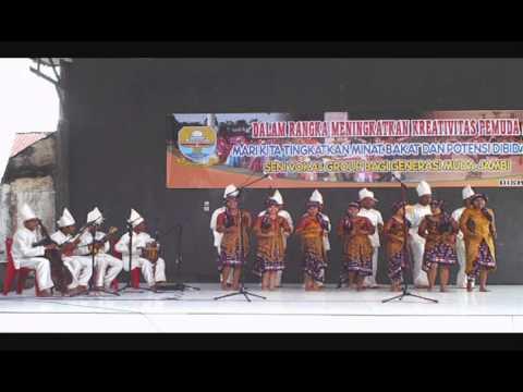 Lagu Daerah Jambi tumbuk Tebing video