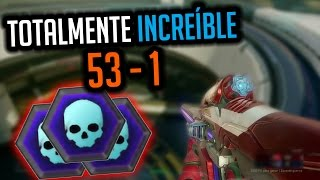 "Halo 5: Guardians | 53-1 con ""Totalmente increíble"" (Unfrigginbelievable) - Montage Warzone Gameplay"