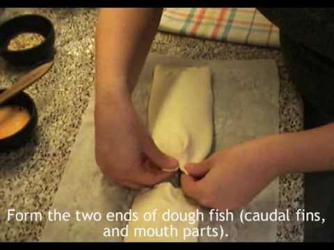 Hal leveles tésztában recept