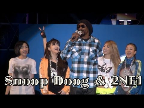 Snoop Dogg & 2NE1 'Drop it like it's hot' Live (스눕독 내한공연)