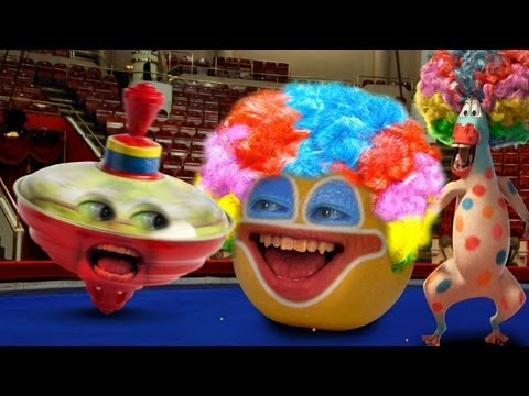 Annoying Orange - Big Top Orange (Ft. Madagascar 3 Gang) Music Videos