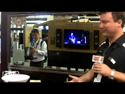 CEDIA 2015: Seura Highlights Its Vanishing Vanity Mirror TV
