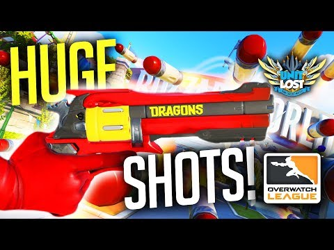 Overwatch League Highlights - UNDEAD McCree HUGE Shots! INSANE Pharah AIR-SHOTS! [OWL PLAYS]