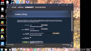 HOW TO CREATE VOICE CHAT ON STEAM!!!!!!!!!!!!
