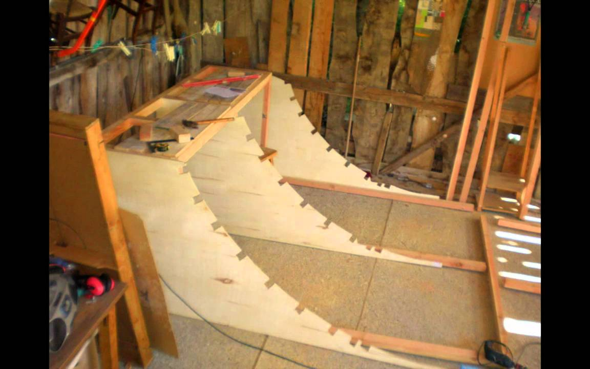 mini rampe skate youtube. Black Bedroom Furniture Sets. Home Design Ideas