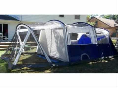 Coleman Elite Weathermaster 6 Tent Youtube