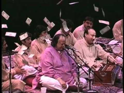 MAIN AUR MERI AWARGI NUSRAT FATEH ALI KHAN   YouTube