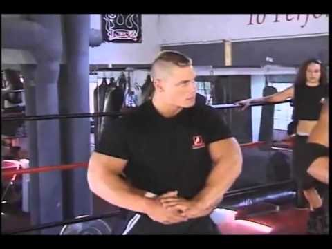 John Cena training at Pro Wrestling School Image 1