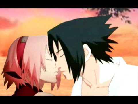 Sasuke and Sakura kissing scene 2: Sharingan Dream