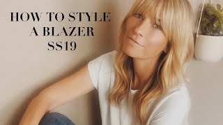 1 BLAZER AND HOW TO STYLE IT | 11 OUTFIT IDEAS FOR SPRING SUMMER