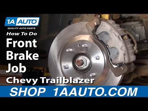 How To Do a Front Brake Job Chevy Trailblazer GMC Envoy 1AAuto.com