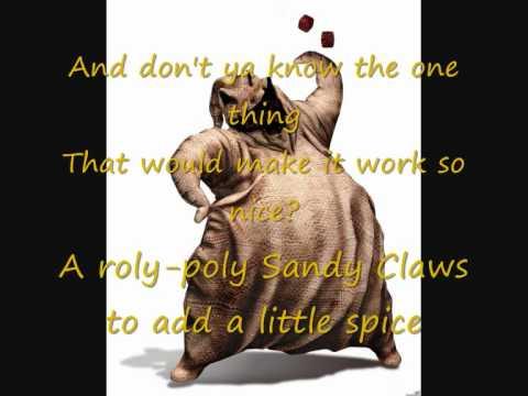 Oogie Boogie song lyrics