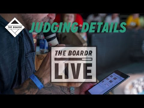 Judging Details: The Boardr Live Skateboarding and Action Sports Scoring System