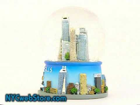 Indianapolis Snow Globe - Indiana Snow Globe