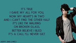 S.O.S - JONAS BROTHER (Lyrics)