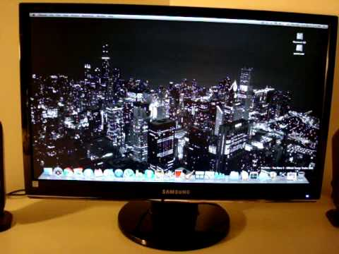 Samsung Syncmaster 24 Inch Monitor Review