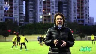 สัมภาษณ์นักเตะ และป้าต่ายก่อนเกม ACL 2015 Guangzhou R&F VS Buriram United
