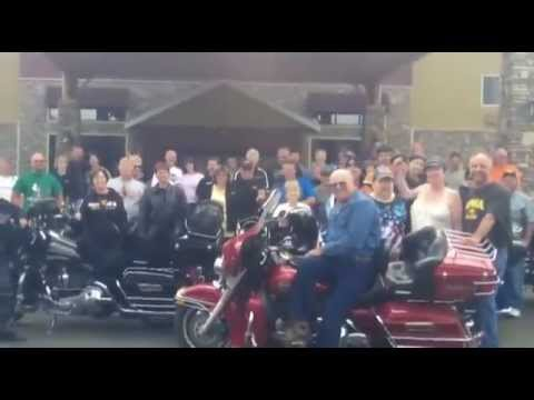 Motorcycle Hair Welcome Ride To Grand Rapids Minnesota